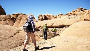 Иордания пешком, на машине и на велосипеде