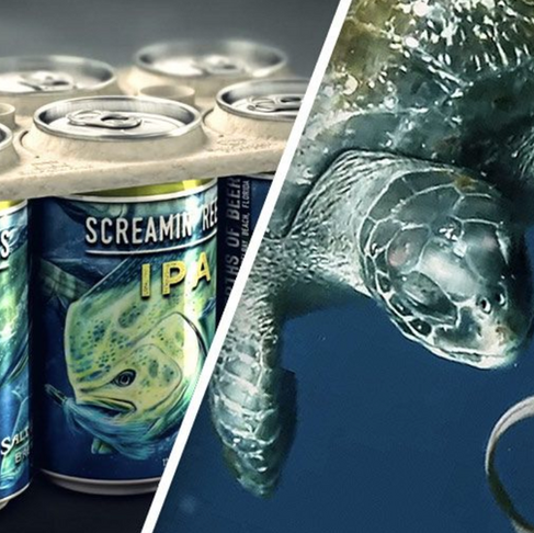 Craft Beer Company Created World's First Edible Six-Pack Rings