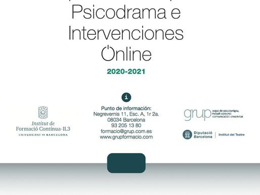 Experto en Grupos, Psicodrama e Intervenciones Online
