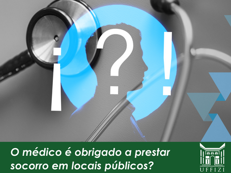 O médico é obrigado a prestar socorro em locais públicos?