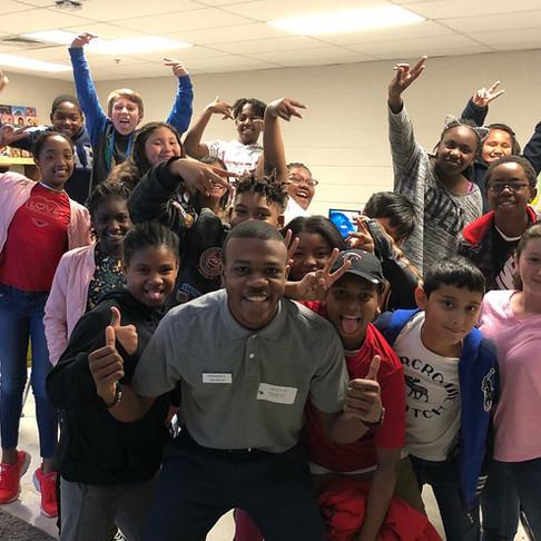 Guest Speaker at Clarkdale Elementary School