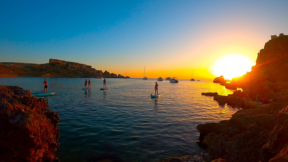 Sunset Sup Tour with Malta Surf School