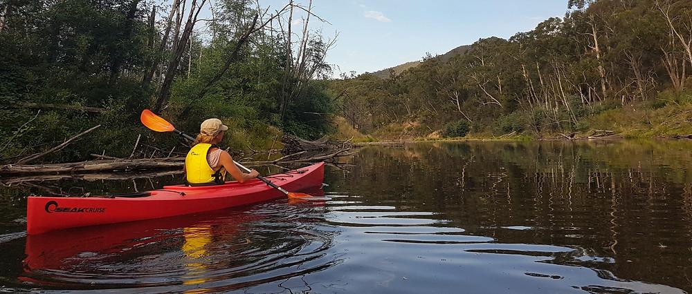 Kayak adventure goulburn river victoria