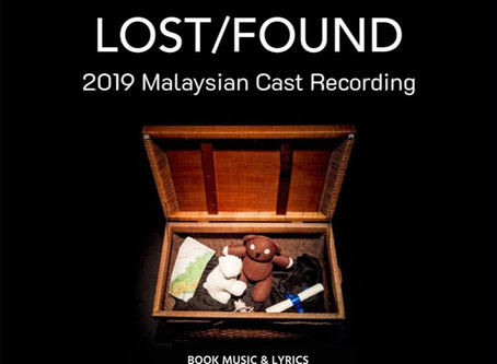 This Is Not A Review of 'Lost/Found' #MalaysianMade Songs by Nick Choo
