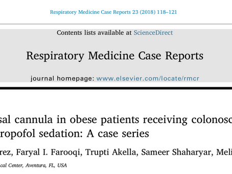 Use of high-flow nasal cannula in obese patients receiving colonoscopy under sedation