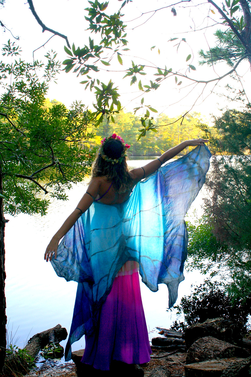Echoing Waters Woodland Fairy Costume
