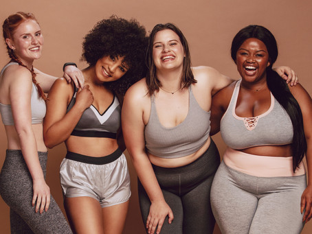 Changing body shape – It happens and that's OK