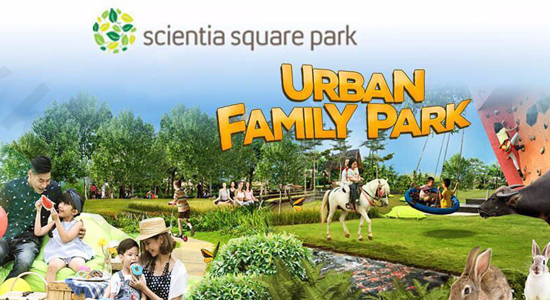 Cari Lokasi Gathering Di Tangerang ? Datang Aja Ke Scientia Square Park