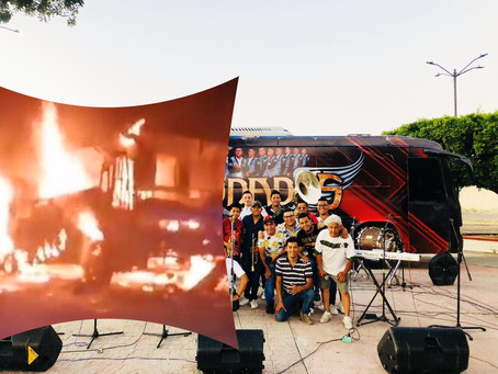 INCENDIAN Autobús de Grupo de Tierra Caliente