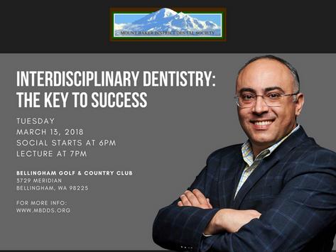Dr. Alan Yassin presenting: INTERDISCIPLINARY DENTISTRY, THE KEY TO SUCCESS!