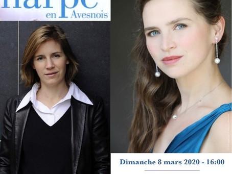 -• Walter trio •- nouvelle/new collaboration : Mélanie Dutreil (harp/e),