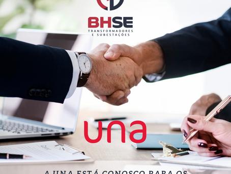 BHSE e Centro Universitário UNA: parceria de valor.