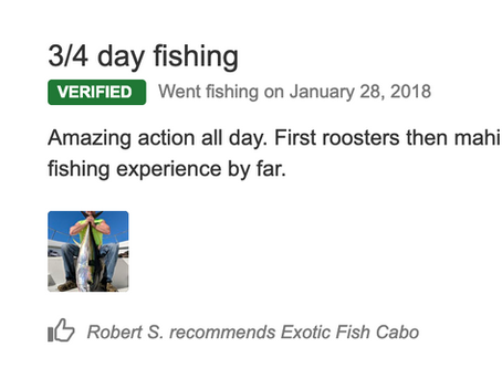 2018 January 28th Customer's review...