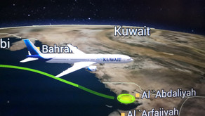Kuwait Airways # Flight Review • KU 382 [ New Dehli → Kuwait ] B777 • Economy Class