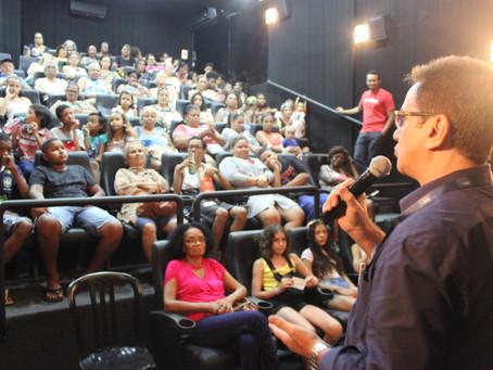 Mostra Férias de Cinema com Rio Filme tem encerramento especial com o Ponto Cine lotado