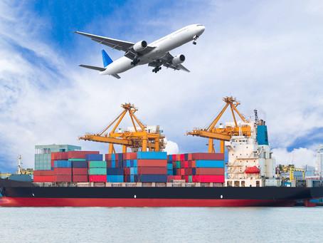 הובלה ימית או הובלה אווירית – מה ההבדלים ובמה כדאי לבחור?