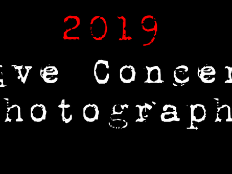 2019 Live Concert Photography