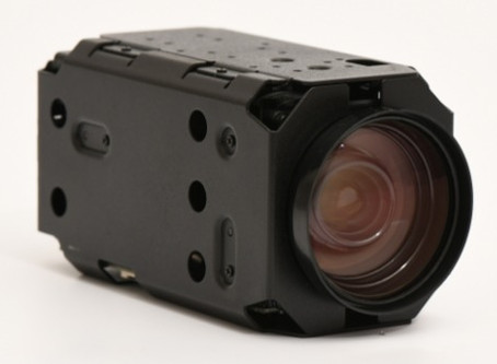 Industrial 36x optical zoom IP block camera with IMX385