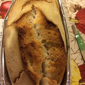 Pane di riso cotto al forno