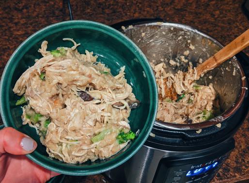 Recipe: Instapot Chicken & Rice
