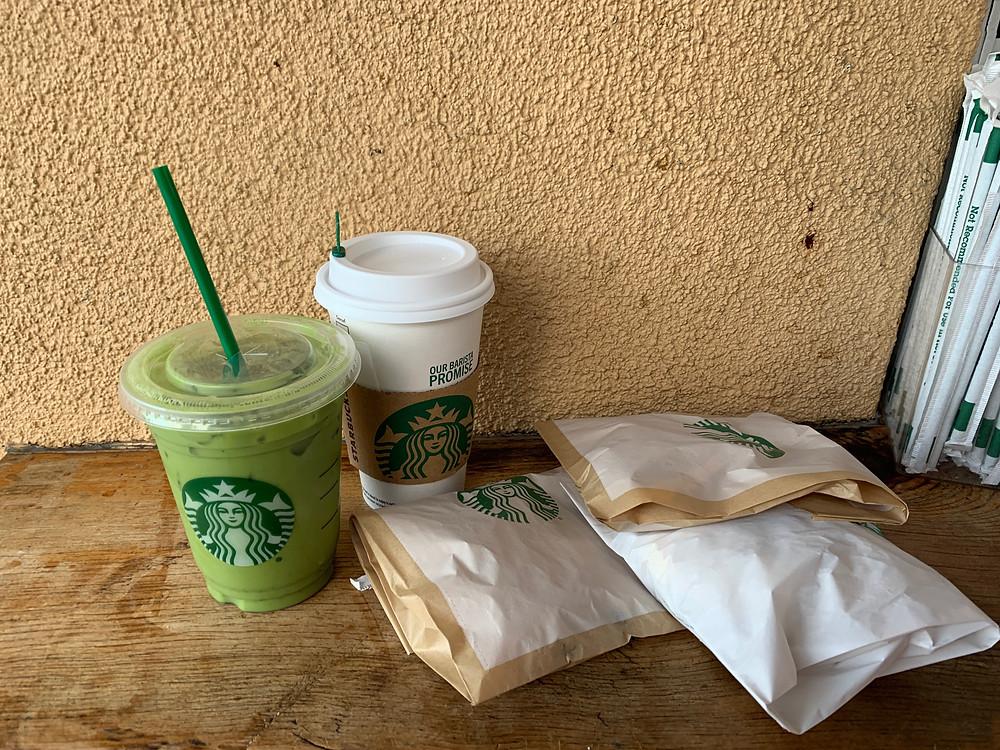 food drink starbucks matcha