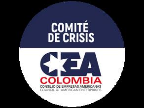Condiciones de seguridad durante el aislamiento preventivo en nuestro Comité de Crisis CEA