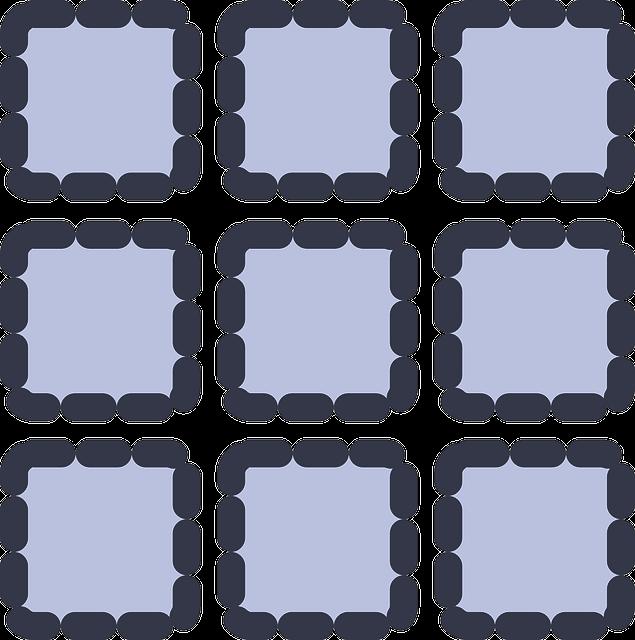 Um exemplo de uma Matriz 3 x 3 (3 linhas, 3 colunas)