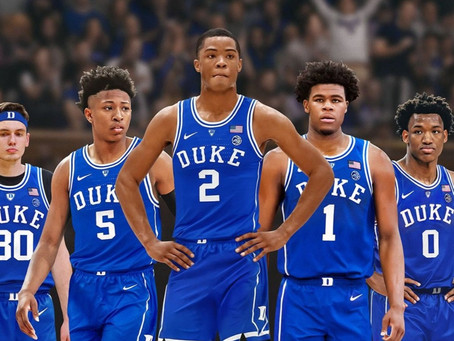 How does Duke get over Zion?