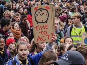 Communiqué de presse : le Scoutisme Français soutient les mobilisations non-violentes pour le climat