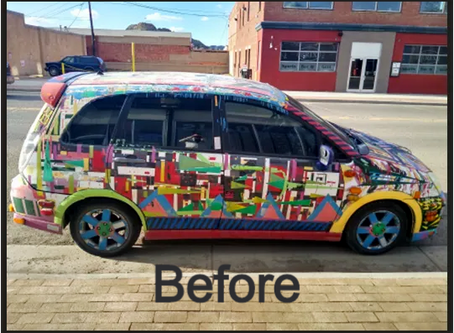 Help us create content for the new Scrabble art car!