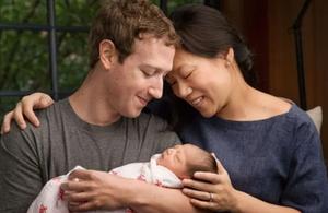 Mark Zuckerberg Dr. Priscilla Chan Facebook kindakind kindness is badass