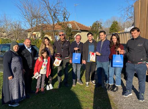 Rotary e Rotaract di Molfetta portano gli aiuti all'Albania