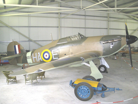 Next project: Hawker Hurricane IIa, Malta 1942