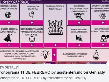 Agenda Bogotá - II Encuentro Colombiano de la Mujer y la Niña en la Ciencia