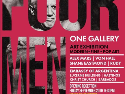 Four Men, One Gallery