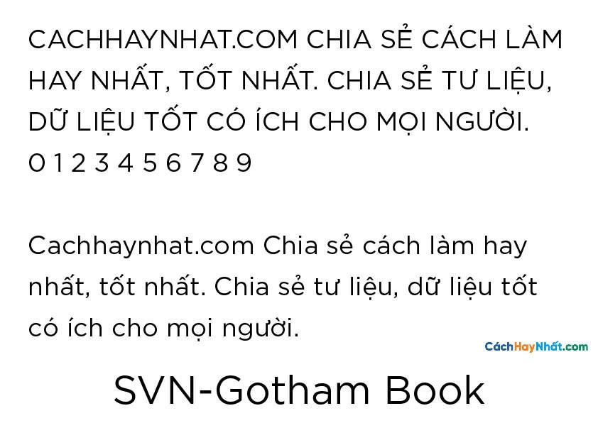 SVN-Gotham Book