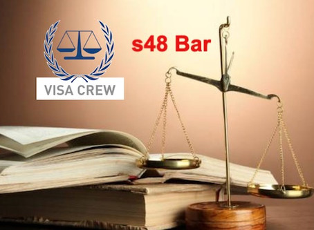 Section 48 - Am I Barred?