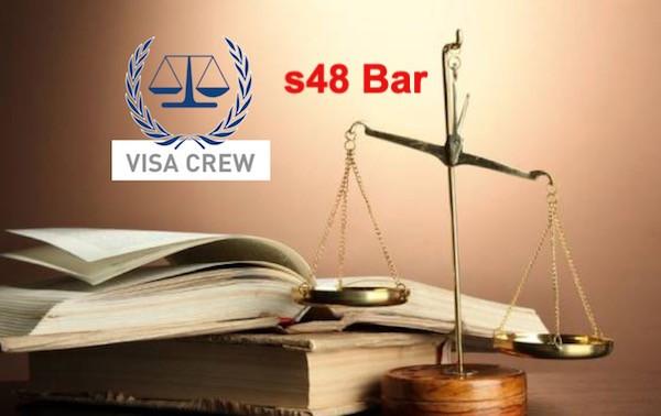 s48 Bar - Can I still Apply For A Visa