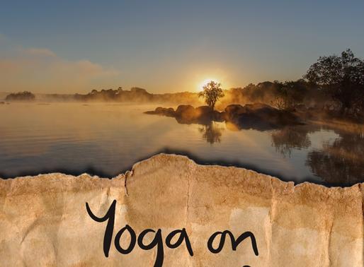 Yoga alongside Zambia's Kafue River