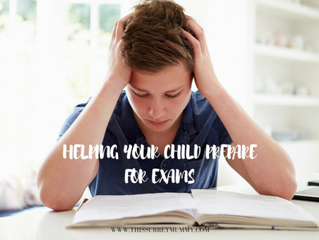 Helping Your Child Prepare For Exams...