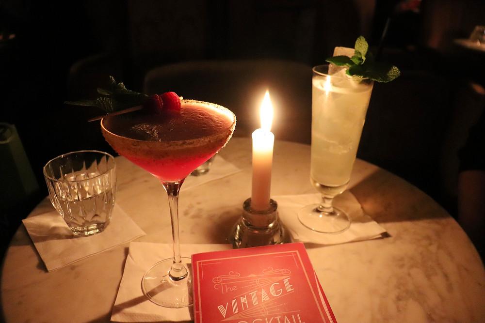 Hidden cocktail bar The VCC in Dublin Ireland