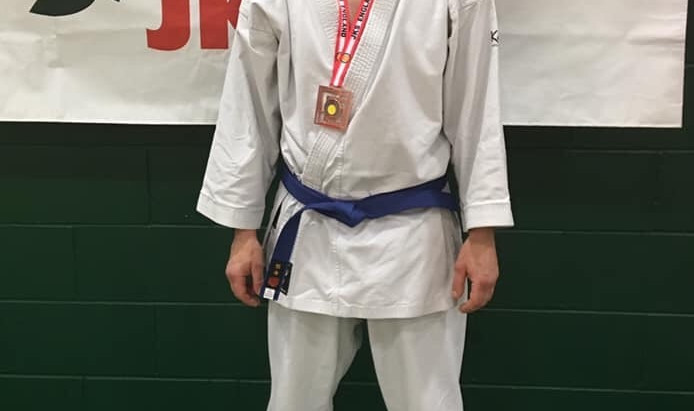 2 Bronze Medals for Grimsby at the JKS England National Karate Championships