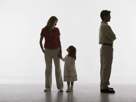 Separação dos Pais