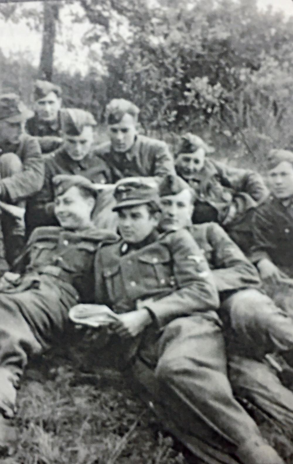 Bankovičs retells his duty in the Latvian Legion.