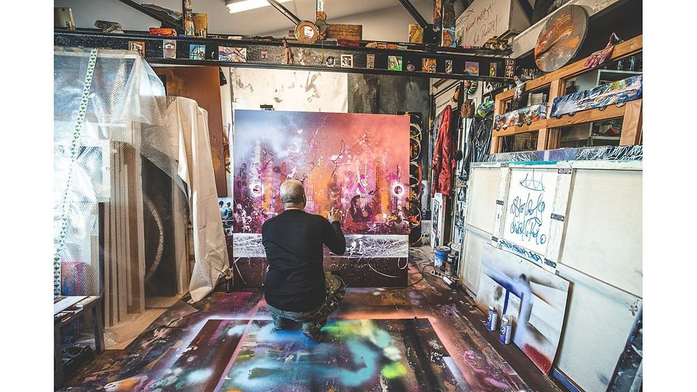 Atelier de l'artiste