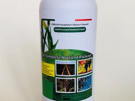 """Estratto d'alga 100% Irish """"Ascophillum Nodosum Seaweed""""."""