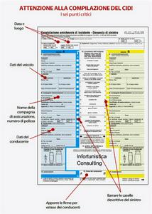 modulo CID infortunistica consulting
