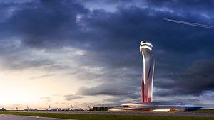 Istanbul New Airport Air Traffic Control Tower