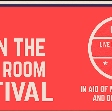 Live In The Living Room Festival announcement at 6pm tonight!
