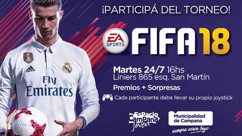 Torneo de FIFA y Mortal Kombat en el Espacio Joven